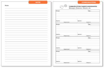 Page Notes, Page Communications